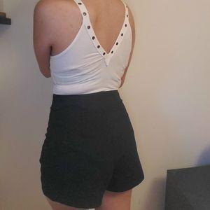 Aritzia Wilfred Free Denim Shorts
